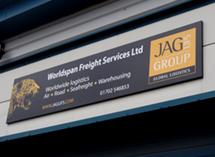 Jag UFS External Signage