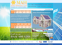 MAH Solar Solutions Website Design