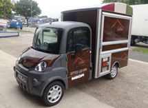 The Coffee Hut Mega Van Wrap